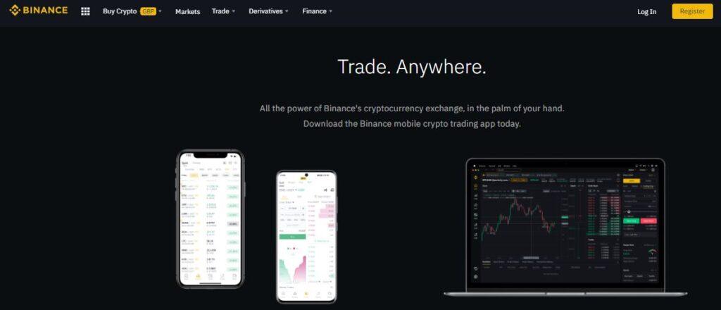 Binance Crypto Trading Cryptocurrency Exchange