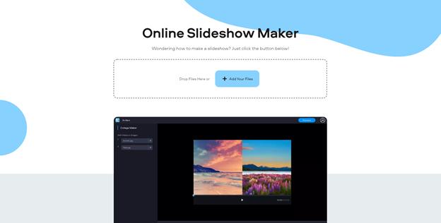 Fastreel Online Slideshow Maker.