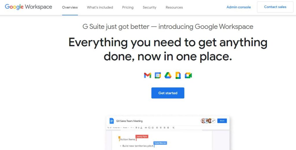 G Suite just got better - introducing Google Workspace. Everything you need to get anything done, now in one place.