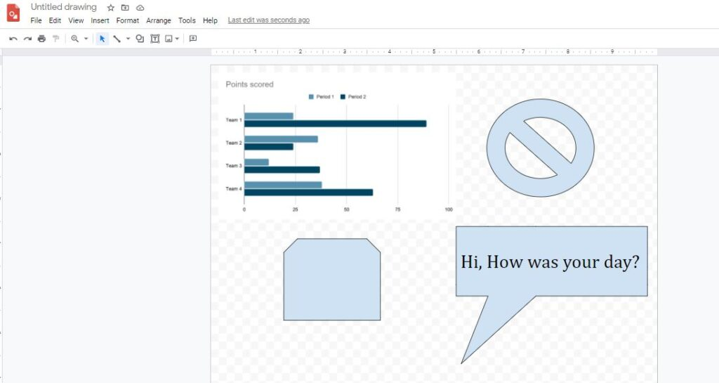 Google Drawings - Create diagrams and charts for free!