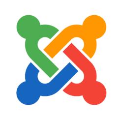 Joomla Content Management System Logo