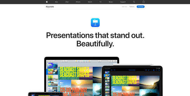 Keynote: Presentations that stand out. Beautifully.