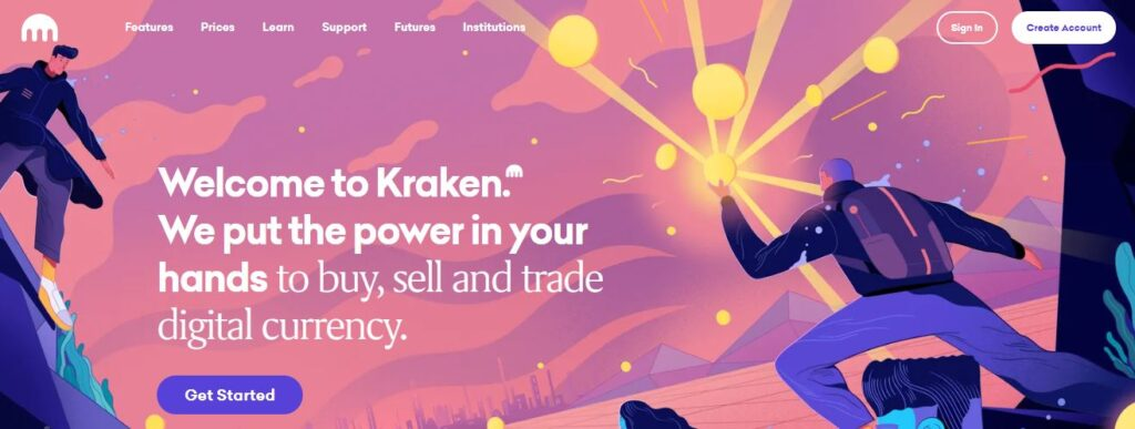 Kraken: Buy, Sell and Trade Digital Currency. Bitcoin and Cryptocurrency Exchange, Bitcoin Trading Platform.