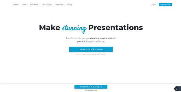 Make Stunning Presentations