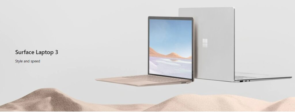 Microsoft Surface Laptop 3 - Style and Speed.