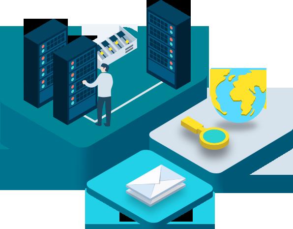 Web Hosting Service, Website Hosting, Web Host, Web Server, Technology.