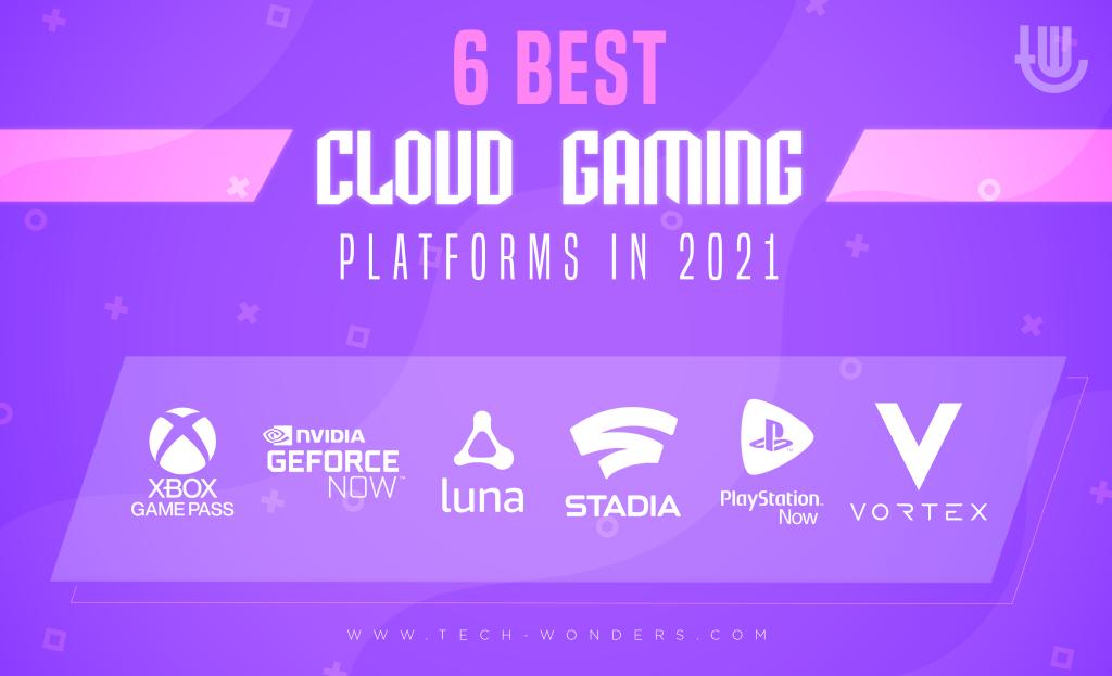 6 Best Cloud Gaming Platforms in 2021