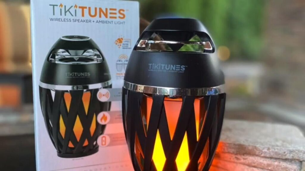 TikiTunes Wireless Speaker + Ambient Light