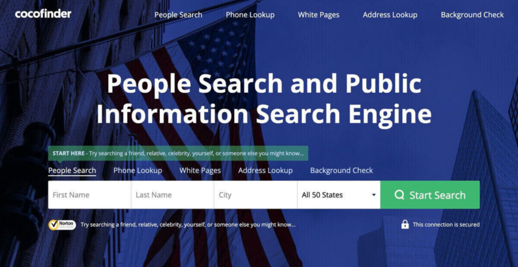 CocoFinder - People Search | Background Check | Phone Lookup | Public Information Search Engine