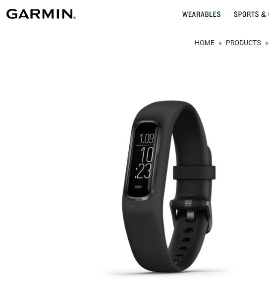 Garmin Vivosmart 4 - Activity and Fitness Tracker
