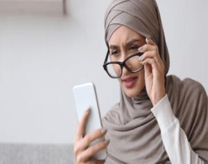 Ill Effects of technology on health - weak eyesight
