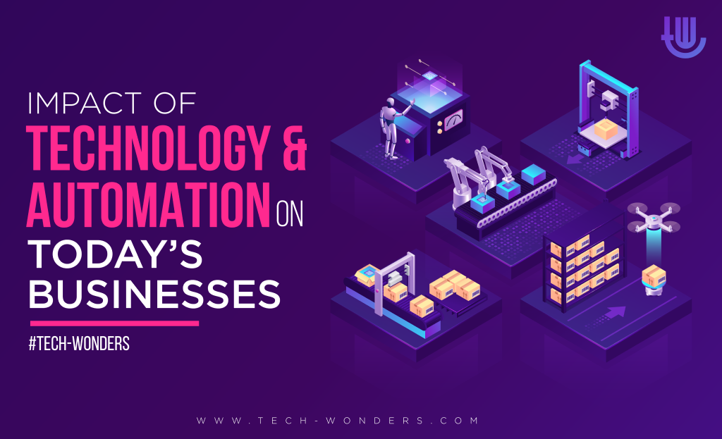 Impact of Technology and Automation on Today's Businesses.