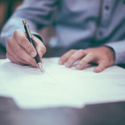 Writing, Business Man, Office Work, Job
