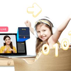 Online Coding/Programming Classes for Kids (Grade 1-3)