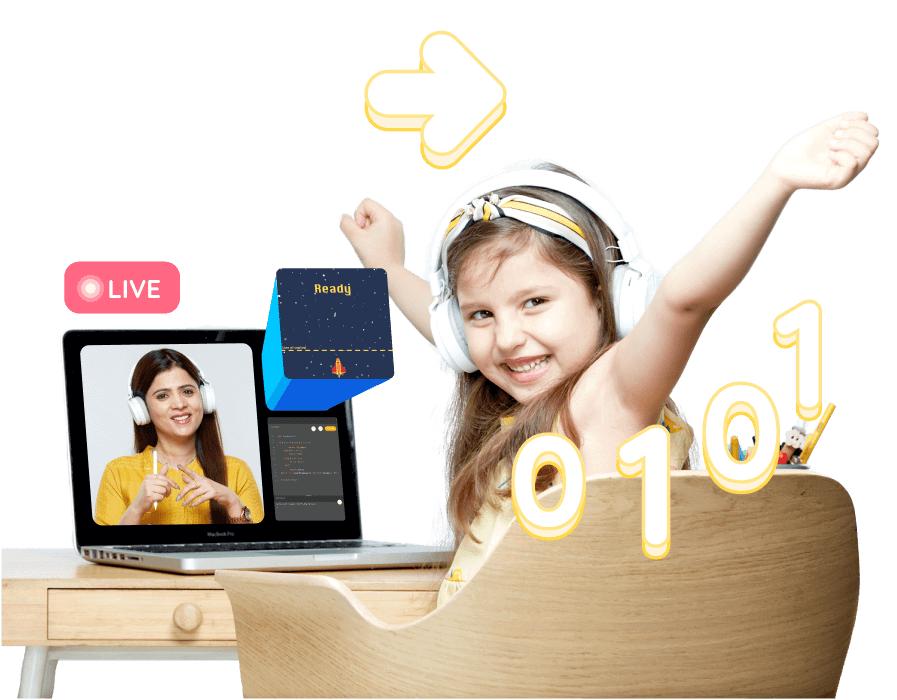 Online Coding Classes for Kids (Grade 1-3)
