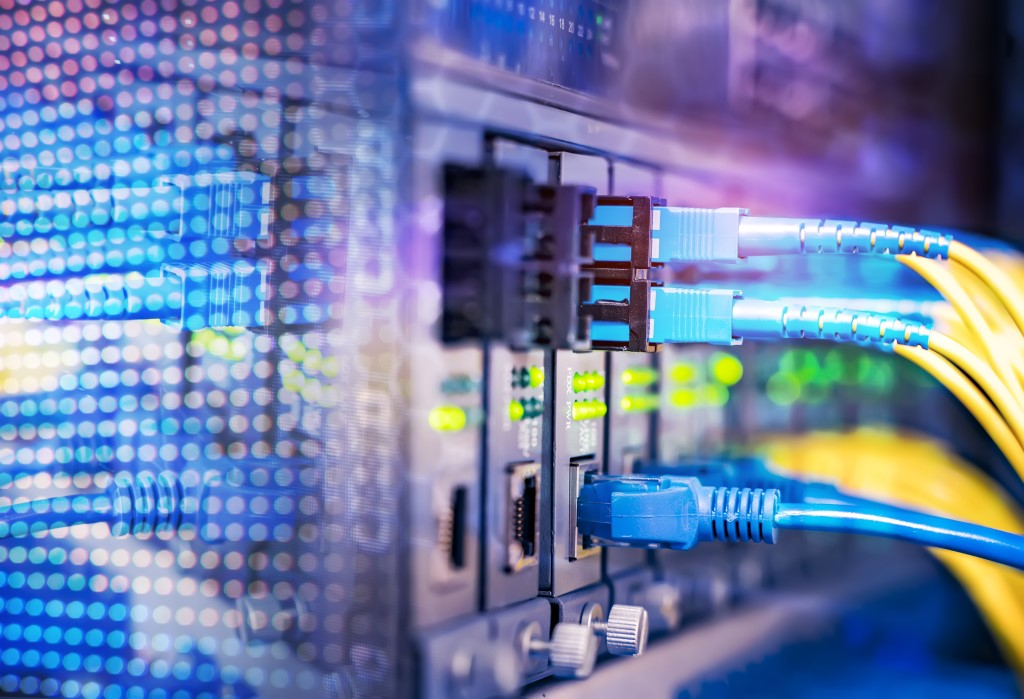 Optical Fiber Information Technology Equipment in Data Center
