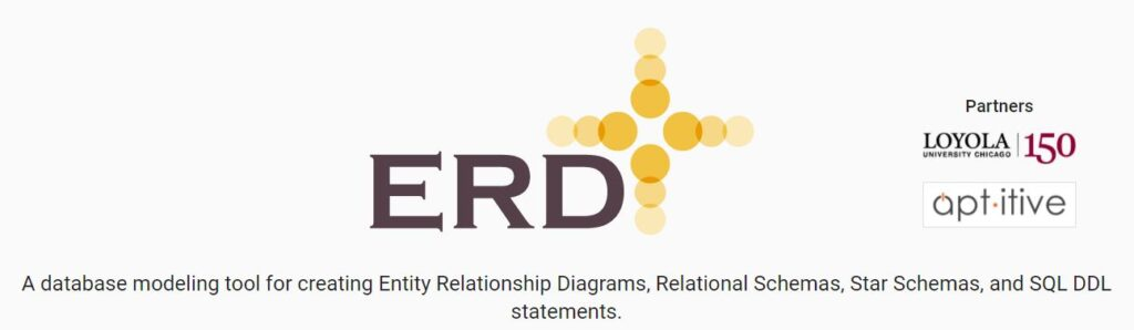 ERDPlus - A database modeling tool for creating Entity Relationship Diagrams, Relational Schemas, Star Schemas, and SQL DDL statements.