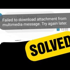 Fix MMS Errors on Android