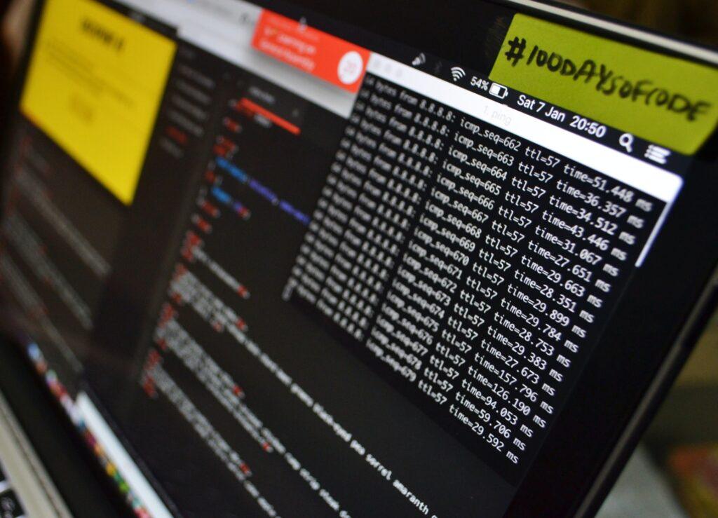 Hardware test on laptop computer