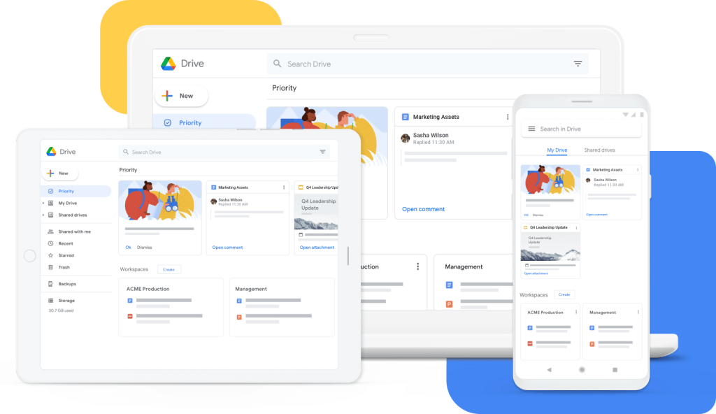 Google Drive - Cloud Storage for Work and Home