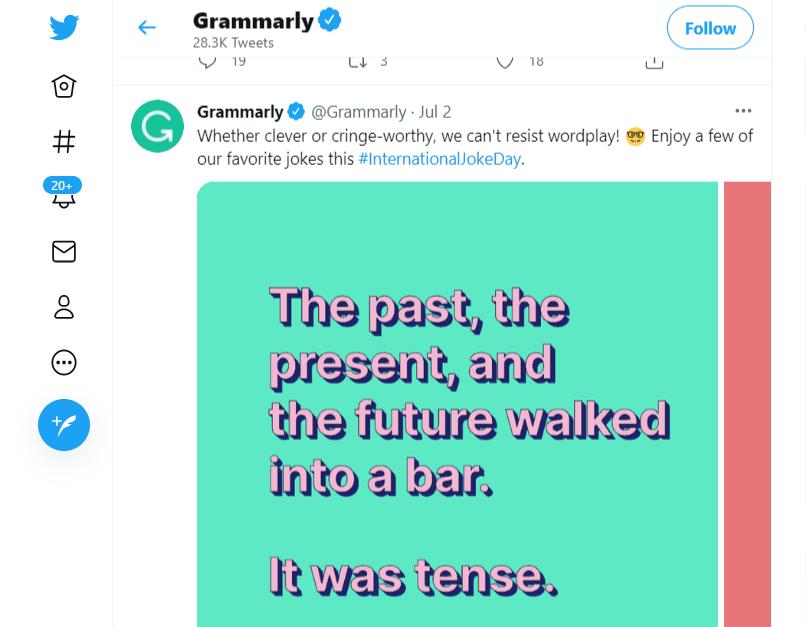 Grammarly (@Grammarly) on Twitter