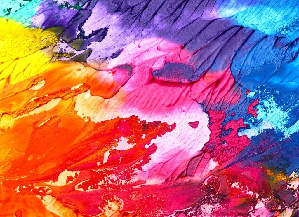 abstract art background paint colorful