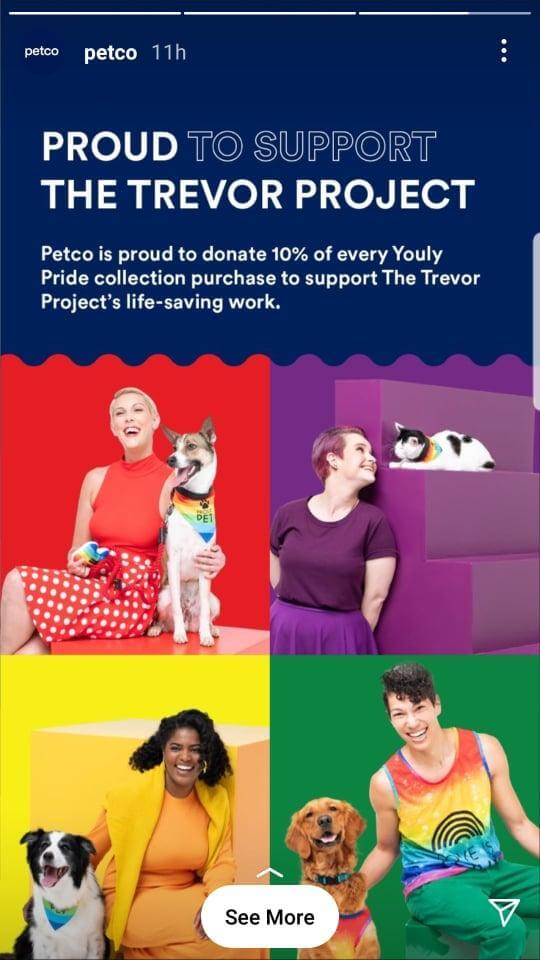 Petco is proud to support The Trevor Project