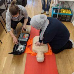 Emergency First Aid Training Lifesaver CPR