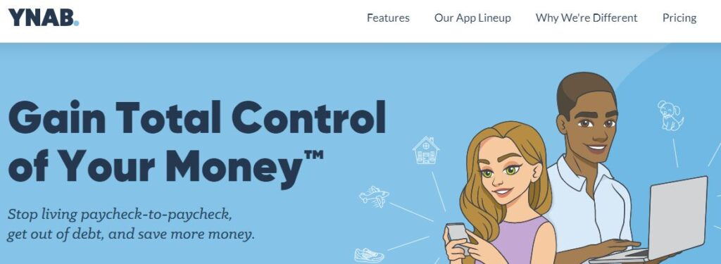 Gain Total Control of Your Money With YNAB.