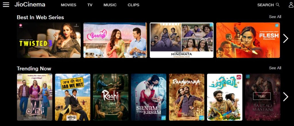 JioCinema - Watch Movies, TV Shows, Web Series & Music Videos Online.