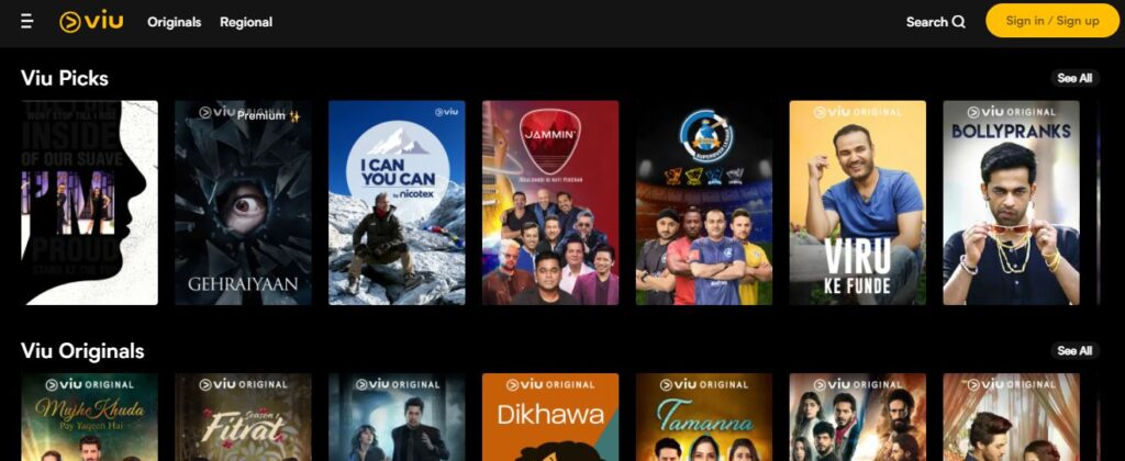 Viu - Watch Latest Hindi Movies, TV Shows, Originals Online.