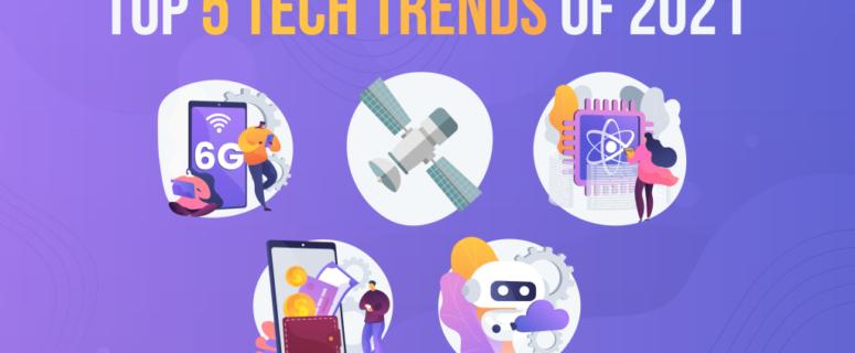 Top 5 Tech Trends of 2021