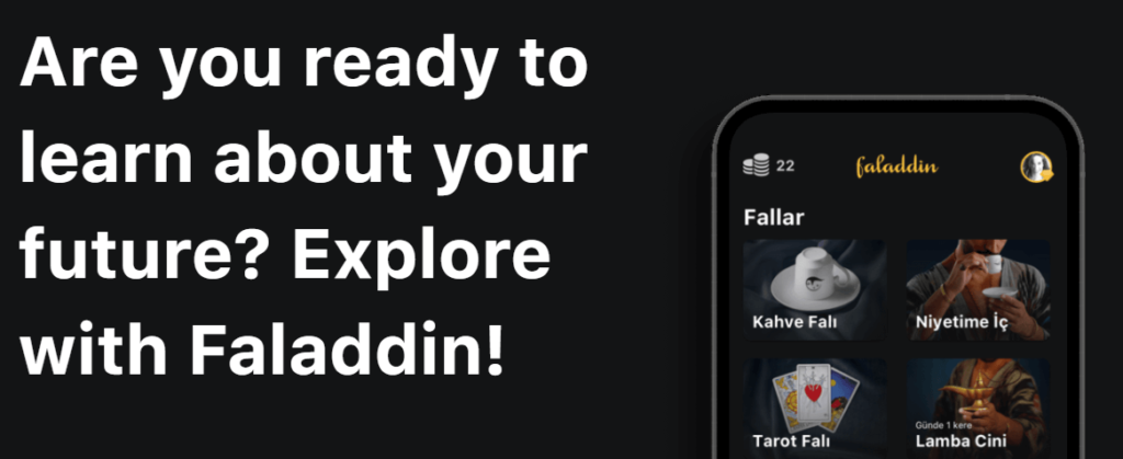 Are you ready to learn about your future? Explore with Faladdin!