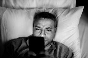 Online Activity Before Bedtime